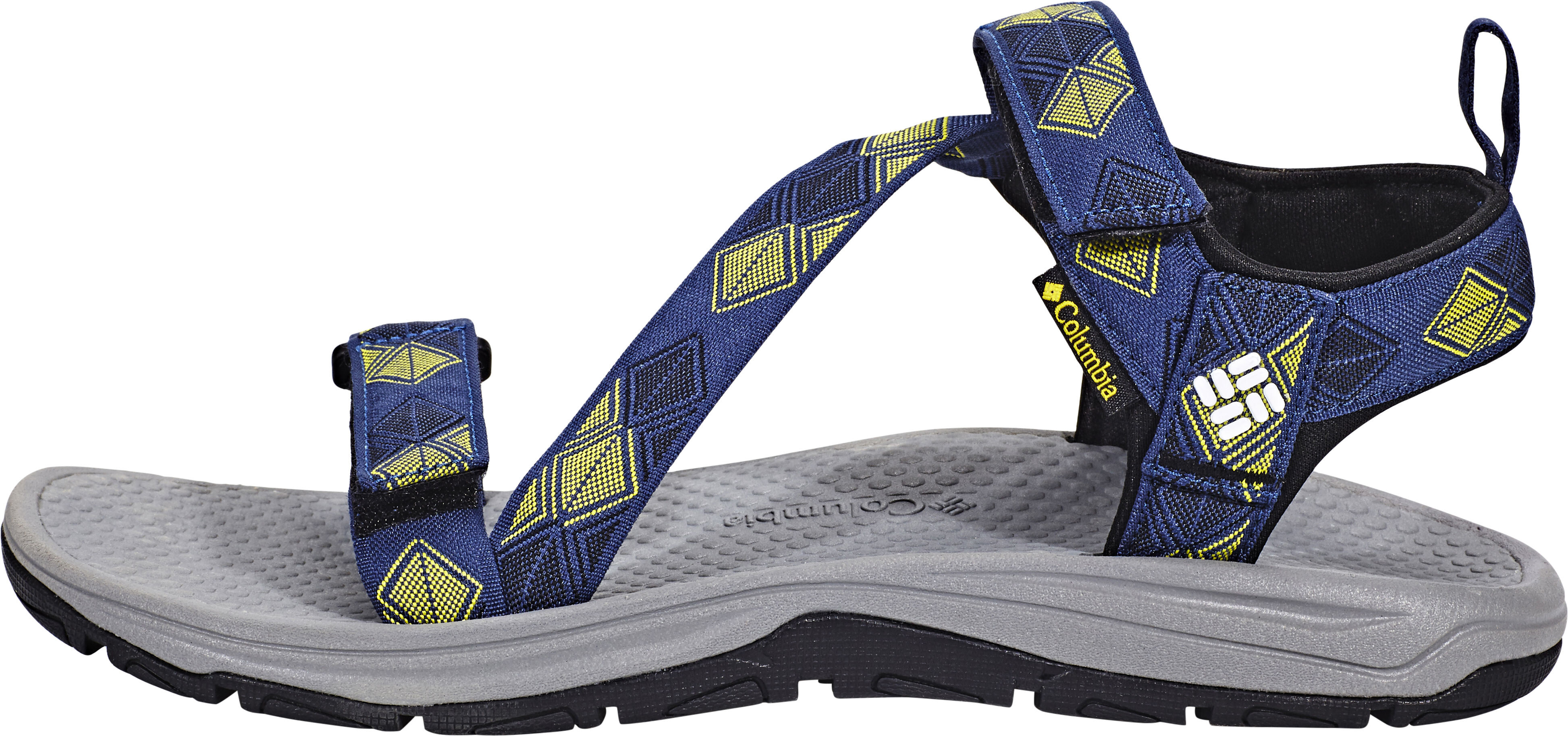 8633ad3c Columbia Wave Train Sandals Men yellow/blue at Addnature.co.uk